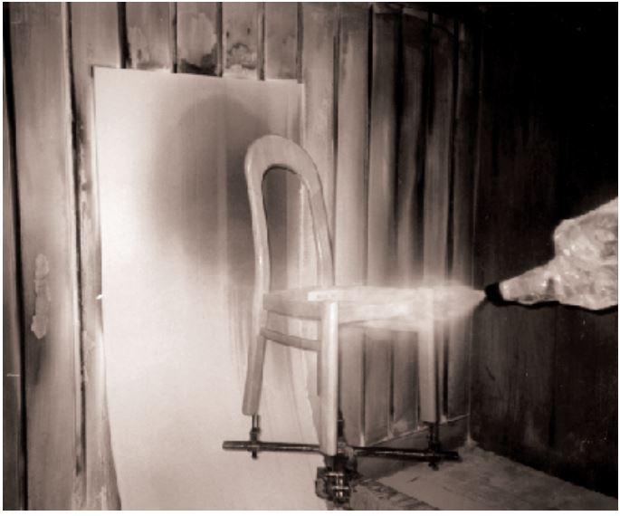 verniciatura delle sedie