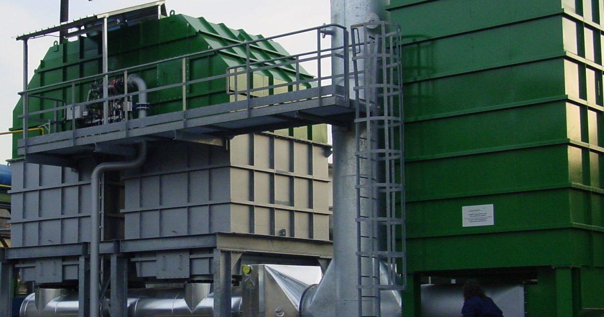Impianti di depurazione nella verniciatura