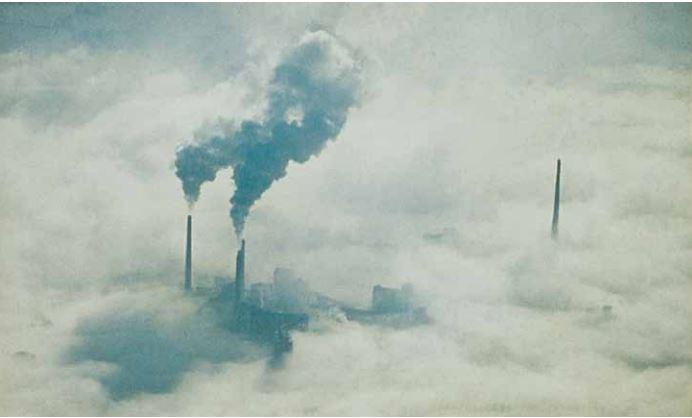 Cielo inquinato