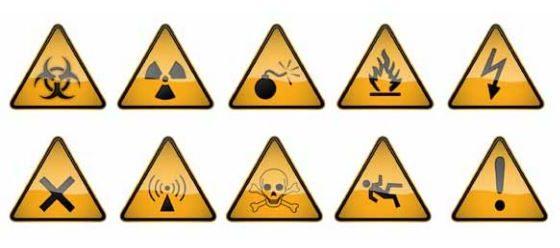 Simboli pericolo