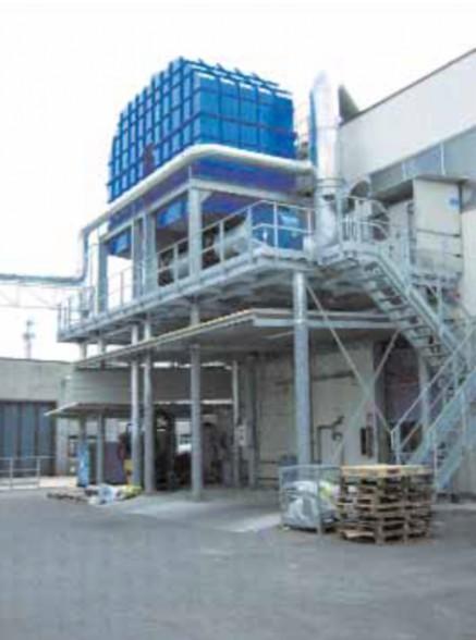 Impianti di depurazione solventi