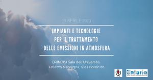 Impianti e tecnologie delle emissioni in atmosfera