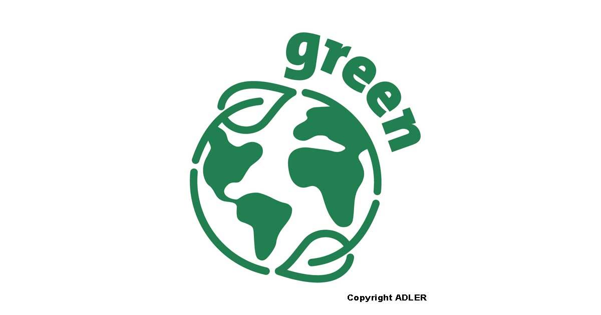 ADLER marchio green